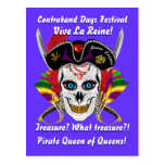 Louisiana Pirate Contraband Days 30 Colors Post Cards