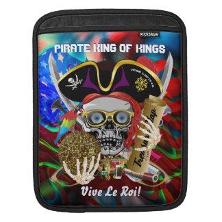 Louisiana Pirate Days Lake Charles 30 Colors iPad Sleeve