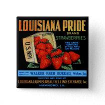 Louisiana Pride Strawberries Button