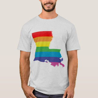 louisiana pride. striped. T-Shirt
