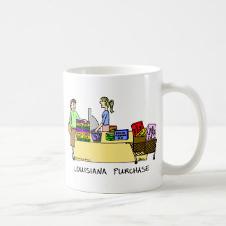 Louisiana Purchase Cartoon Mug