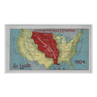 Louisiana Purchase Exposition Poster