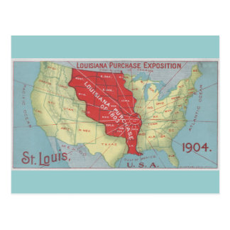 Louisiana Purchase Postcard