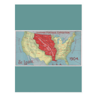 Louisiana Purchase Postcard