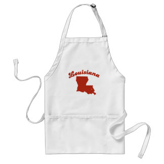 LOUISIANA Red State Adult Apron