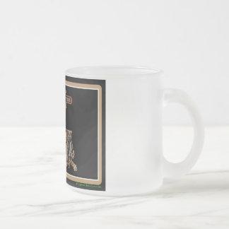 Louisiana Rig Up Camo Frosted Glass Coffee Mug