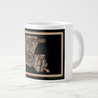 Louisiana Rig Up Camo Giant Coffee Mug
