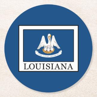 Louisiana Round Paper Coaster
