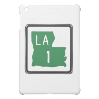 Louisiana Route 1 (One) Road Trip Travel Sign iPad Mini Cover
