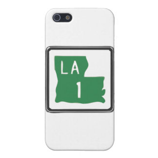 Louisiana Route 1 (One) Road Trip Travel Sign iPhone SE/5/5s Cover