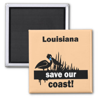 Louisiana save our coast magnet