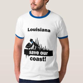 Louisiana save our coast T-Shirt