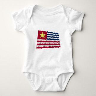 Louisiana Secession Flag of 1861 Baby Bodysuit