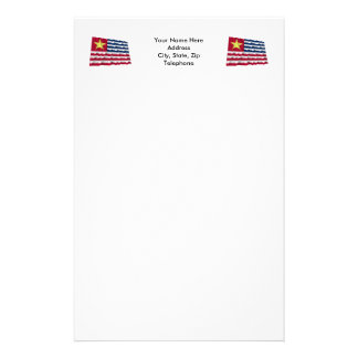 Louisiana Secession Flag of 1861 Stationery
