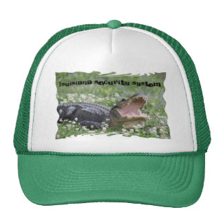 Louisiana security systemThis hat