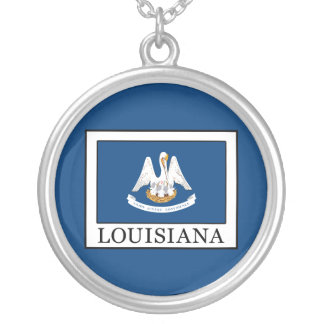 Louisiana Silver Plated Necklace
