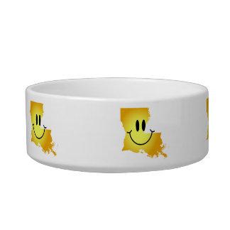 Louisiana Smiley Face Bowl