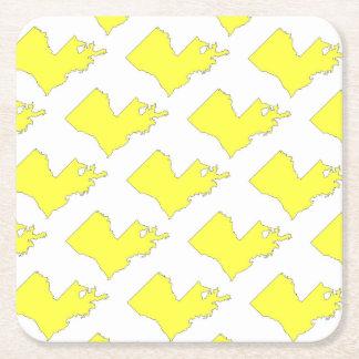 Louisiana Square Paper Coaster