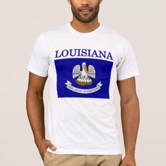 Louisiana State Flag American Apparel T-shirt