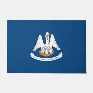 Louisiana State Flag Design Doormat
