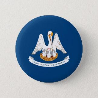 Louisiana State Flag Design Pinback Button