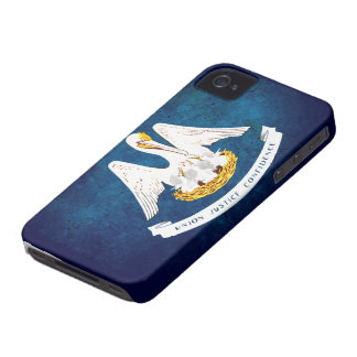 Louisiana state flag iPhone 4 Case-Mate case