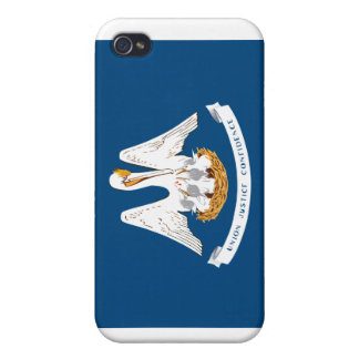 Louisiana State Flag Case For iPhone 4