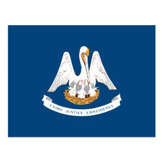 Louisiana State Flag Postcard