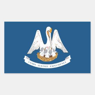 Louisiana State flag Rectangular Sticker