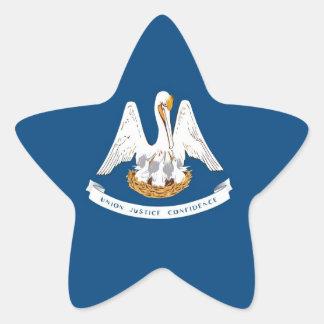 Louisiana State Flag Star Sticker