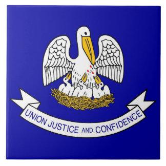 Louisiana State Flag Tile