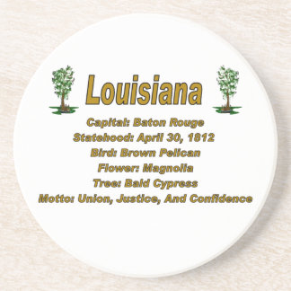 Louisiana State Info Coaster
