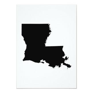 Louisiana State Outline Card