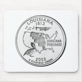 Louisiana State Quarter Mouse Pad