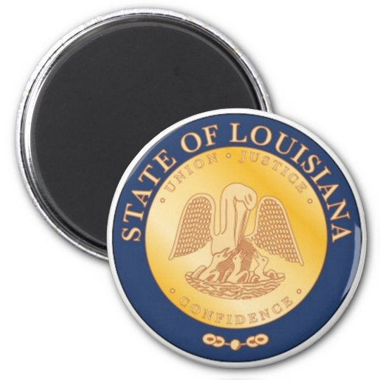 Louisiana State Seal Magnet