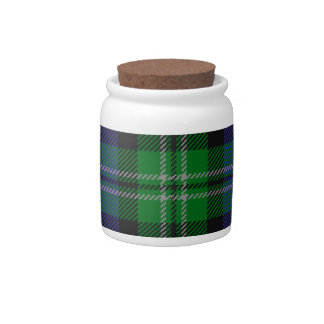 Louisiana_state_tartan Candy Jar