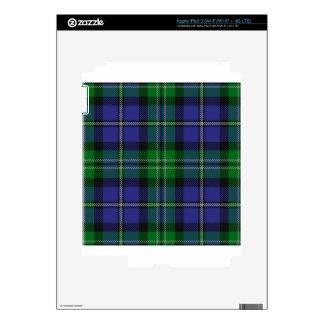 Louisiana_state_tartan Decal For iPad 3