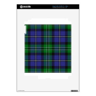 Louisiana_state_tartan iPad 2 Decal