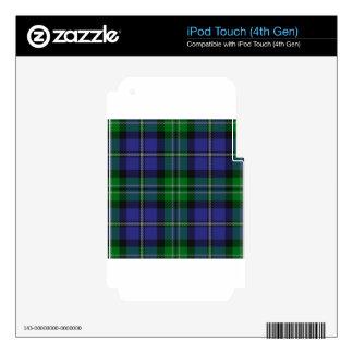 Louisiana_state_tartan iPod Touch 4G Calcomanía
