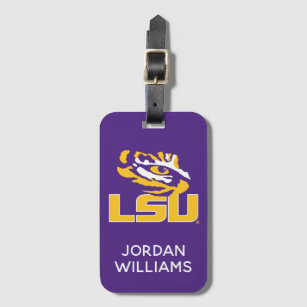 Louisiana State University | Tiger Eye Bag Tag