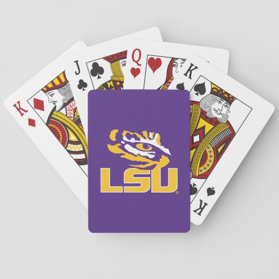 Louisiana State University | Tiger Eye Playing Cards