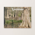 """Louisiana Swamp Jigsaw Puzzle<br><div class=""""desc"""">Swamp with trees growing in the bayou.</div>"""