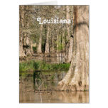 Louisiana Swamp Stationery Note Card