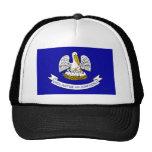 Louisiana, United States flag Trucker Hat