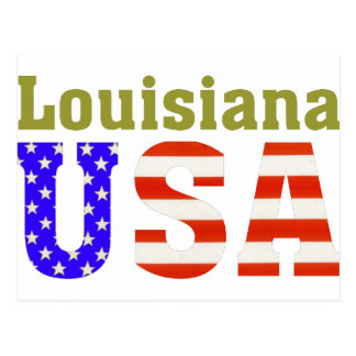 Louisiana USA! Postcard