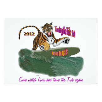 Louisiana vs. Alabama rematch game party 2.0 Card
