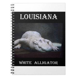 Louisiana White Alligator New Notebook
