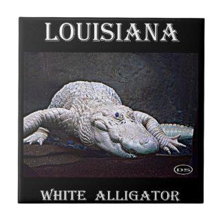 Louisiana White Alligator New Tile
