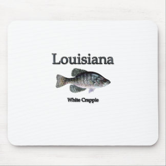 Louisiana White Crappie Mouse Pad
