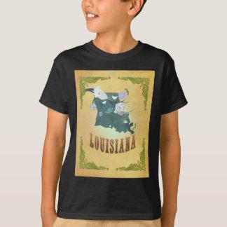 Louisiana With Lovely Birds T-Shirt